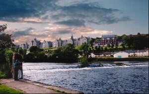 El río Lee a su paso por Cork. Wikipedia