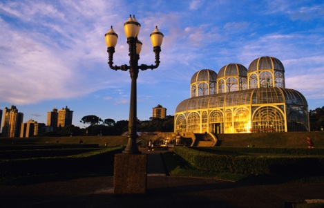 Cúpula del Jardín Botánico de Curitiba - Foto:  Wikipedia