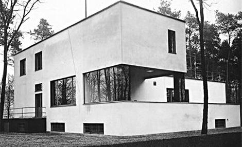 Complejo de dos viviendas donde vivió Gropius y su colega Laszlo Moholy-Nagy. | ELMUNDO.es
