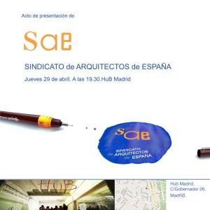 Presentación Sindicato de Arquitectos de España - Web