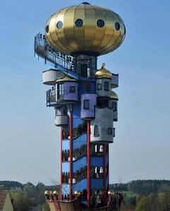 La fábrica de cerveza alemana Kuchlbauer por fin tiene su torre - Foto: ElMundo.es