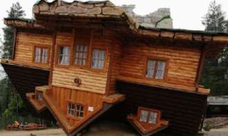 El empresario y filántropo Daniel Czapiewski construyó esta casa para criticar las locuras y debilidades del sistema comunista.