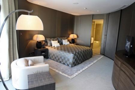 Una de las habitaciones del lujosísimo hotel  Foto: AP
