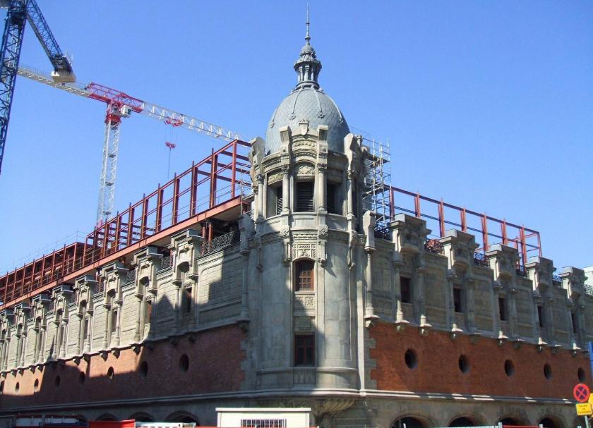 Alhóndiga Municipal de Bilbao. Wikipedia