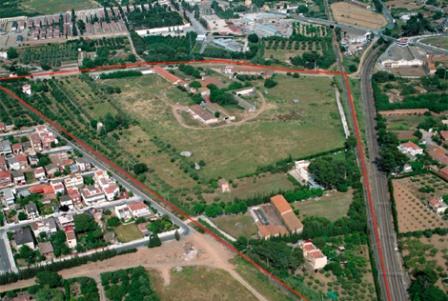 Vista del emplazamiento y del barrio sant Joan. | Elmundo.es.