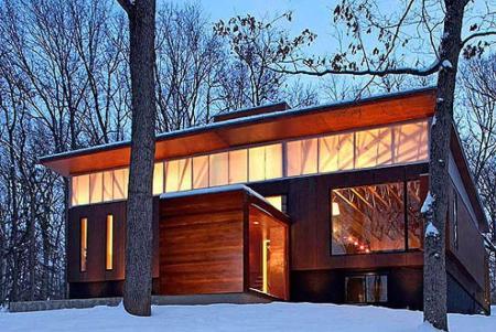 Ferrous House, que se encuentra en Milwaukee (Wisconsin), del equipo de arquitectos Johnsen Schmaling.