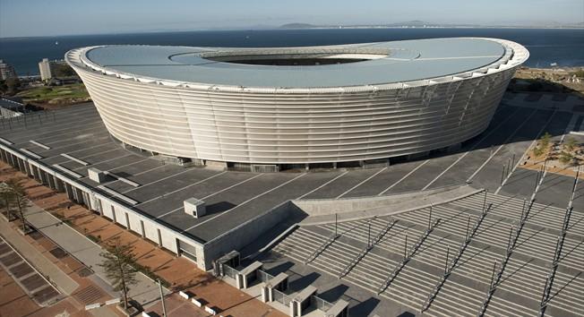Nuevo estadio de Ciudad del Cabo, situado en el barrio de Green Point (Foto: FIFA)