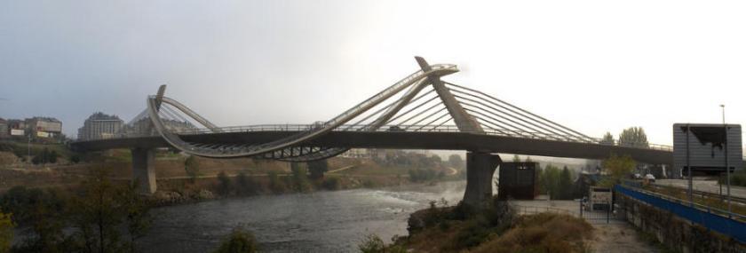 Puente del Mileno, Orense, Galicia - España