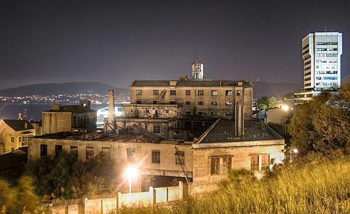 Vista Nocturna antigua Panificadora de Vigo - Foto: Alberto Pérez Barahona