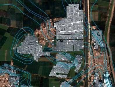 Fotografía aérea de la zona donde se han localizado los restos de una antigua ciudad egipcia de hace más de 3.500 años (Imagen: EFE)