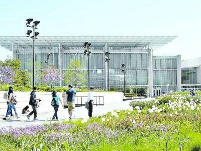 Ampliación del Instituto de Arte de Chicago, completando el Parque del Milenio, obra de Renzo Piano - Foto:  Clarín Arquitectura