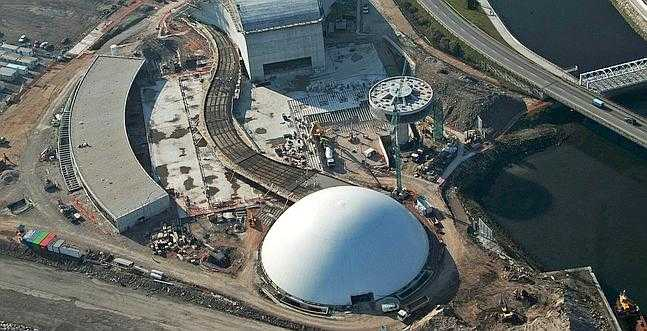Imagen aérea del Centro Cultural Internacional Óscar Niemeyer / EFE - ABC.es