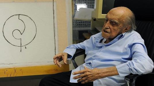AFP El arquitecto brasileño Oscar Niemeyer - ABC.es