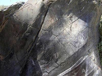 Un ejemplo del arte rupestre en la zona de la Sierra Verde. (Imagen: PATRIMONIO CASTILLA Y LEÓN) 20minutos.es