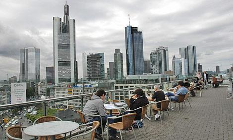 Panorámica del distrito financiero de Frankfurt, el corazón de los negocios alemán. | Elmundo.es