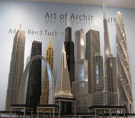 Algunos edificios de la exposición. | http://www.brickstructures.com - ElMundo.es