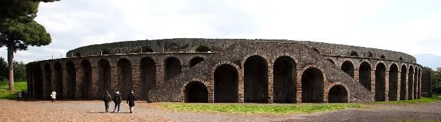Imagen del anfiteatro de Pompeya - ABC.es