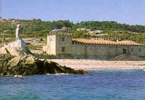 Pazo (Palacio) de la Isla de Sálvora. Foto: Guía Turística - Municipio de Cangas