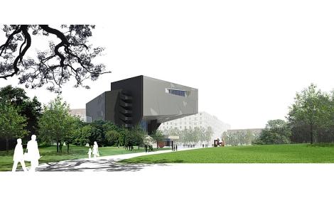 Imagen virtual de la maqueta del edificio. | Caixa Fórum / ElMundo.es Cultura