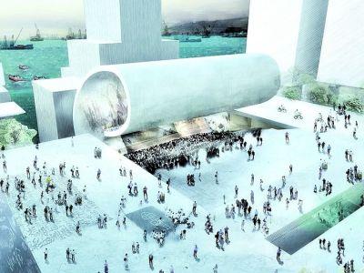 Del gran teatro a la verde pradera. Imagen: Clarín.com, Arquitectura