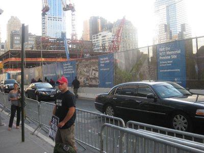 Obras en la Zona Cero, este 11 de septiembre de 2010. (Imagen: BEATRIZ CASTRILLO) 20minutos.es