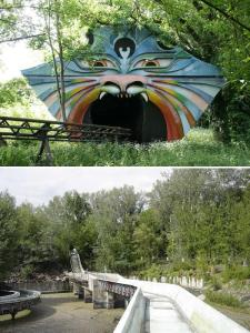 Abandoned Water Slide in Spreepark, Berlin - Foto: Urban Ghosts media - public domain
