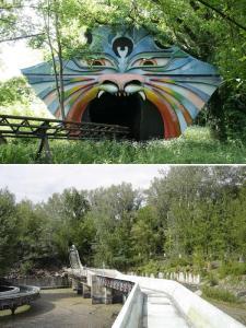 Abandoned Water Slide in Spreepark, Berlin - Foto: Urban Ghosts media - public domain