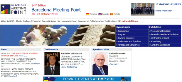 14th Edition Barcelona Meeting Point - Web