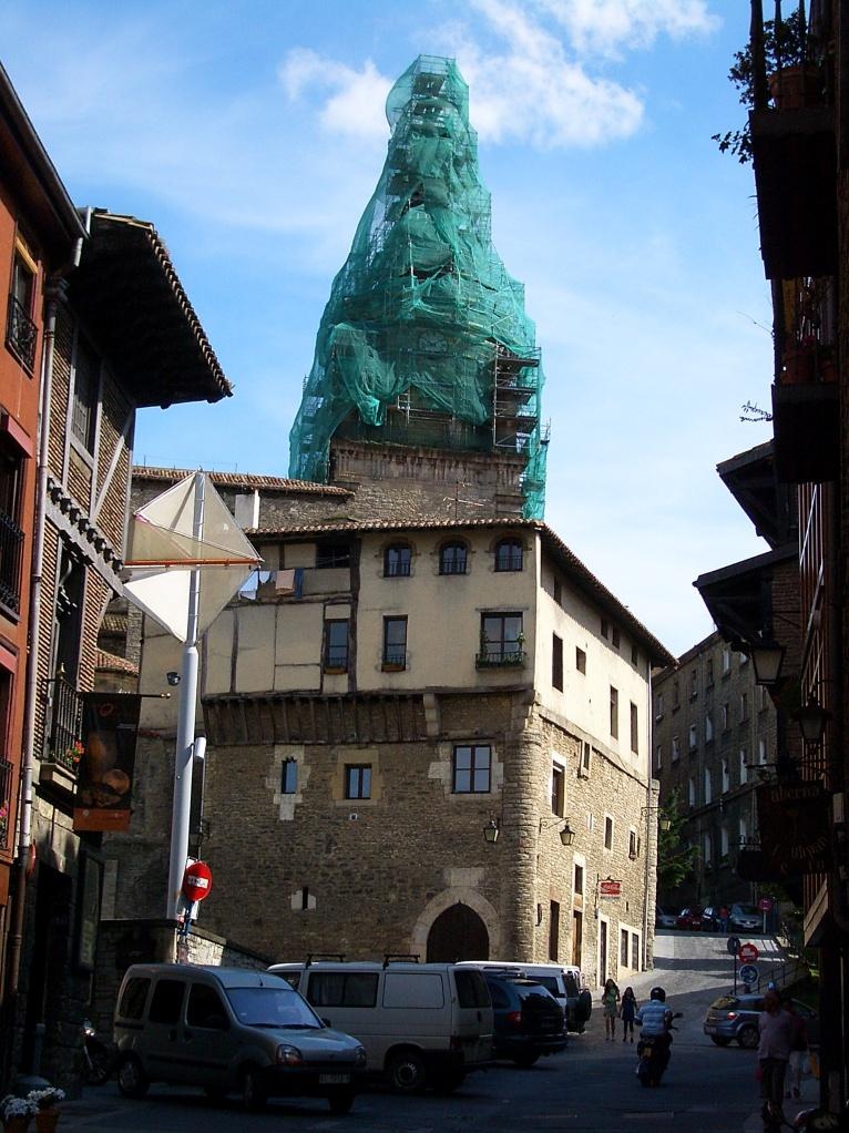 Vitoria cathedral under repair - Wikipedia