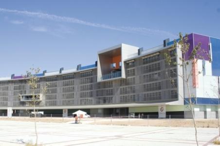 El Hemiciclo Solar 92 VPPA en Móstoles.   ELMUNDO.es