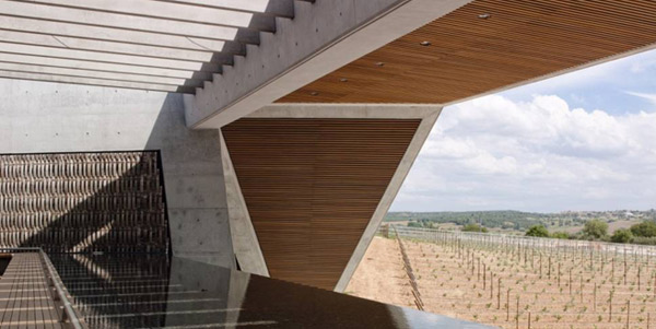 Foster + Partners, Bodegas Portia, image (c) Foster + Partners, Architizer