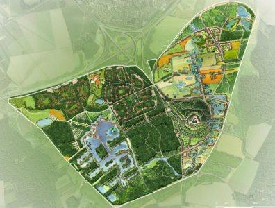 Recreación de la ciudad de vacaciones Village Nature, parte del megaproyecto, | Disney - ElMundo.es