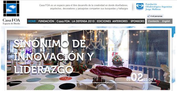 Web Oficial de Casa FOA www.casafoa.com