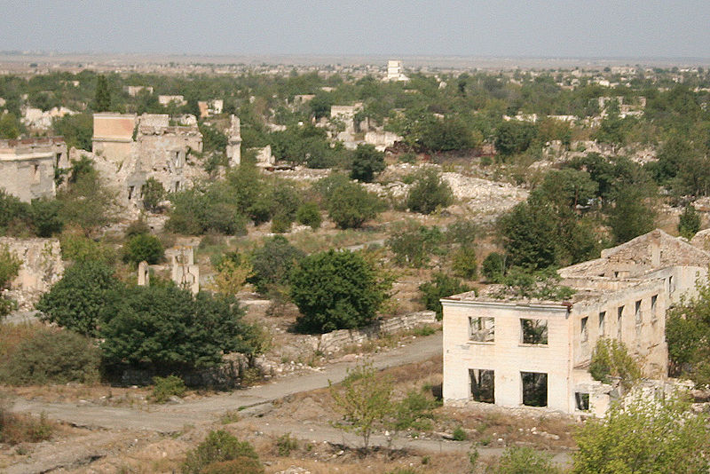 View of the destruction caused by war - Wikipedia