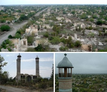 Agdam, (abandoned) capital city of Azerbaijan - WebUrbanist
