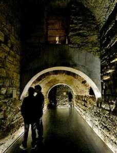 El criptopórtico de Coímbra podría tener relación con A Coruña - La Voz de Galicia