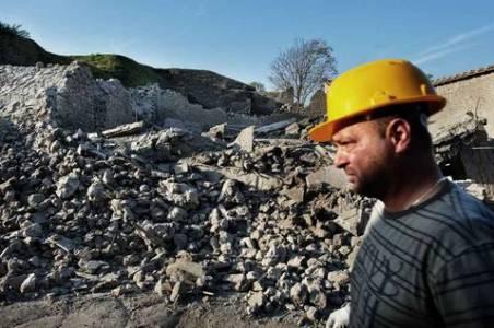 Derrumbe de la Domus de los Gladiadores - AFP / ABC.es