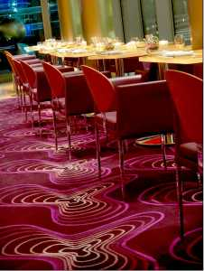 Eboli chairs by Cadpdell at Silk Road Restaurant (Las Vegas)