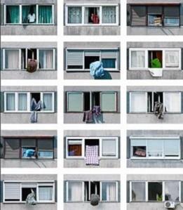 Una de las imágenes que exhibe la exposición 'Modernización'. El Periódico, Barcelona (España)