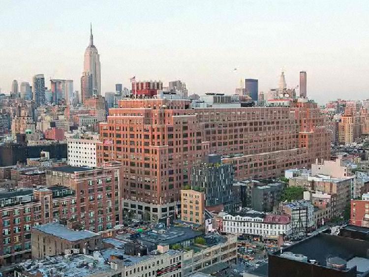 EN CHELSEA. El edificio está ubicado en ese barrio de Nueva York. Clarín.com