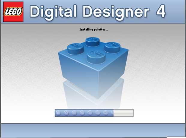 Pantalla de Instalación del LEGO Digital Design 4 - ldd.lego.com/download