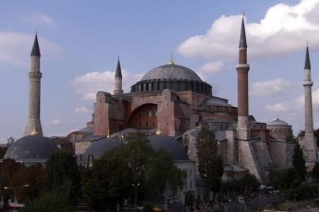 Panorámica de Santa Sofía, en Estambul. | El Mundo
