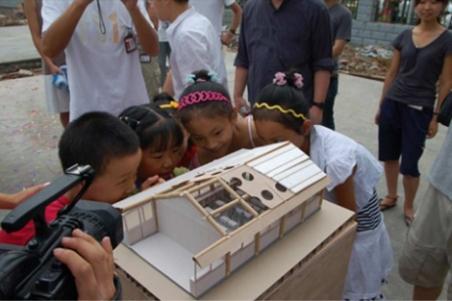 Prototipo de los refugios de Shigeru Ban para Haití.| Abitare - ElMundo.es