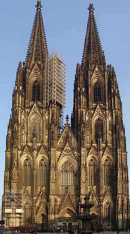 Catedral de Colonia, hogar de las reliquias de los Reyes Magos - Wikipedia