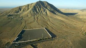 Imagen panorámica de la montaña de Tindaya - AFP / ABC.es