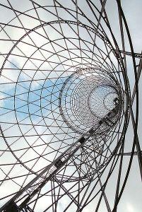 Vladímir Shújov, Torre Shabolovka, Moscou, 1922  - Wikipedia