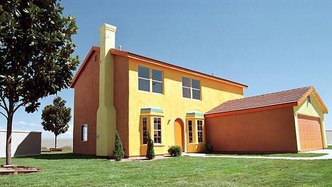 Las últimas informaciones hablan de que el «hogar Simpson» está en venta por unos 120.000 dólares.  ABC.es / Bitácoras.com