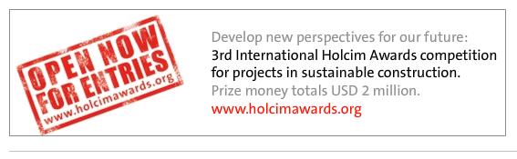 Abierta la III Edición de los Premios Holcim - www.holcimfoundation.org