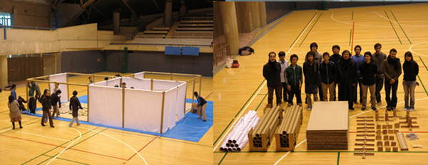 Help Shigeru Ban Build Emergency Shelters - March 16, 2011  (Architizer Blog)