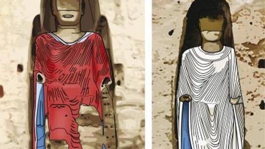 ARNOLD METZINGER - Apariencia de los coloridos ropajes de los budas a finales del siglo X. ABC.es
